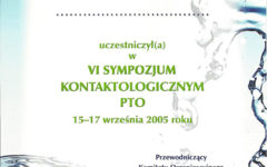 VI Sympozjum Konaktologiczne PTO