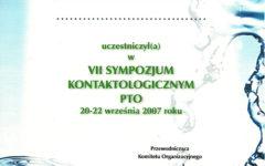 VII Sympozjum Konaktologiczne PTO