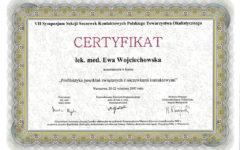 VII Sympozjum Sekcji Soczewek Kontaktowych PTO
